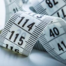 Inch and Centimetre Tape Measure